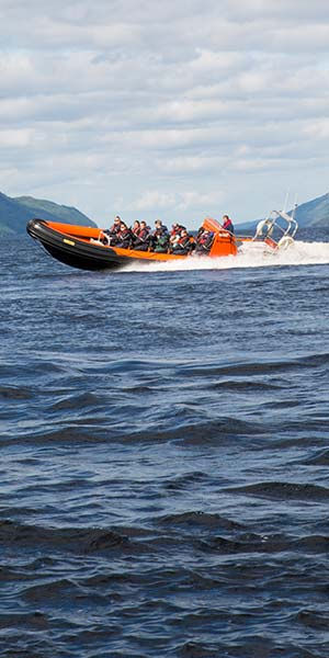 One of our custom built rib boats