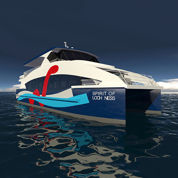 Image of our new boat which is coming soon.
